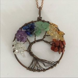 Jewelry - NEW. Gorgeous tree of life necklace💕